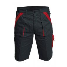Cerva MAX rövidnadrág fekete/piros 54