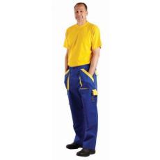 Cerva MAX nadrág kék/sárga 56