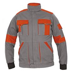 Cerva MAX LADY női kabát szürke/narancs 48
