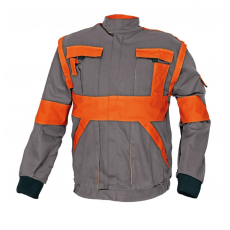 Cerva MAX kabát szürke / narancs 56
