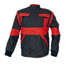 Cerva MAX kabát fekete / piros 56