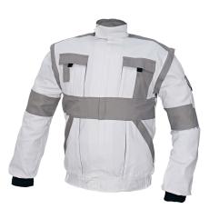 Cerva MAX kabát fehér / szürke 48