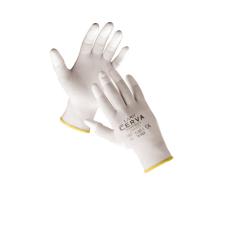 Cerva LARK ujjbegymártott nylon kesztyű - 9