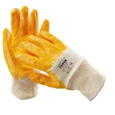 Cerva HARRIER sárga mártott nitril kesztyű - 9