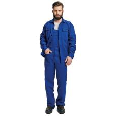 FF BE-01-005 set (kabát+mellesnadrág) kék 62