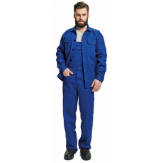 FF BE-01-005 set (kabát+mellesnadrág) kék 54