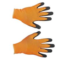 FH BUBO nylon, latex kesztyű narancssárga - 8