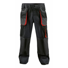 FF BE-01-003 derekas nadrág fekete/piros 48