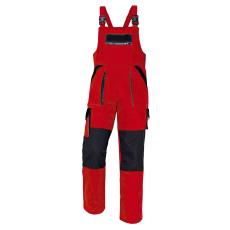 Cerva MAX kertésznadrág piros/fekete 58