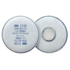 3M 2128 szűrőbetét P2,O3 2db/csomag