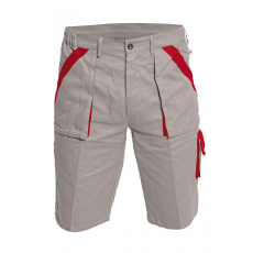 Cerva MAX rövidnadrág szürke/piros 58