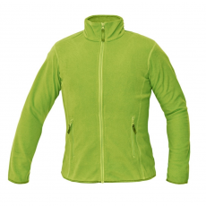 Cerva GOMTI női polár kabát zöldcitrom S