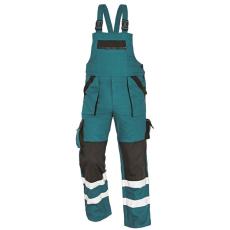 Cerva MAX REFLEX kertésznadrág zöld/fekete 52