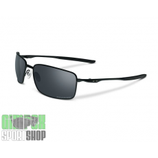 OAKLEY Square Wire Matte Black Black Iridium Polarized