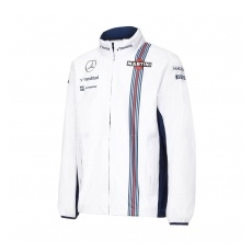 Williams Martini Racing férfi kabát Replica Rain white 2016 - XL