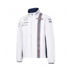 Williams Martini Racing férfi kabát Softshell white Team 2016 - S