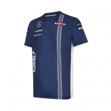 Williams Martini Racing férfi póló Team blue 2016 - XL