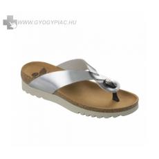 Scholl /Eredeti!/ Scholl Kenna ezüst lábujjközi női papucs bioprint technológiával 35-39