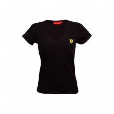 Branded Ferrari női póló V-neck black F1 Team 2016 - XL