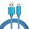 ENKAY Hat-Prince Micro USB kábel 1.0m, kék