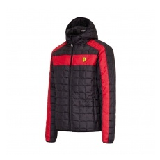 Ferrari férfi kabát SF Packable black F1 Team 2016 - S