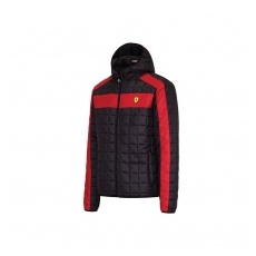 Branded Ferrari női kabát Packable black F1 Team 2016 - XL