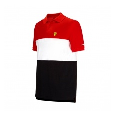 Branded Ferrari férfi galléros póló Race red F1 Team 2016 - XL