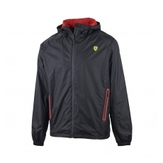 Branded Ferrari férfi kabát Windbreaker black F1 Team - XL