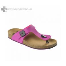 Scholl /Eredeti!/ Scholl Spikey fekete-fukszia női lábujjközi papucs bioprint technológiával 37-39