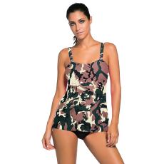 Camouflage 2 részes tankini