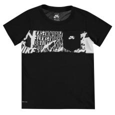 Nike Sportos póló Nike Pieced gye.