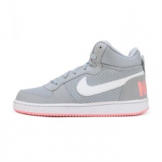 Nike Court Borough Mid gyerek sportcipő, Wolf Grey/White, 38 (845107-001-5.5y)