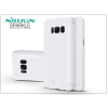 Nillkin Samsung G955F Galaxy S8 Plus oldalra nyíló flipes tok - Nillkin Sparkle - fehér