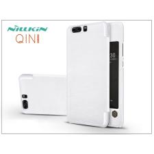 Nillkin Huawei P10 oldalra nyíló flipes tok - Nillkin Qin - fehér tok és táska