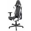 DXRacer Racing Gamer szék - Fekete/Fehér (OH/RZ0/NW)