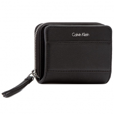 Calvin Klein Black Label Kis női pénztárca CALVIN KLEIN BLACK LABEL - Luc7 Medium Ziparound With Flap K60K602534 001