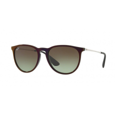 Ray-Ban RB4171 6316E8 ERIKA BLACK SP RED GREEN GRADIENT BROWN napszemüveg