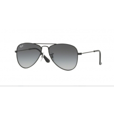 Ray-Ban RJ9506S 220/11 SHINY BLACK LIGHT GREY GRADIENT DARK GREY gyermek napszemüveg