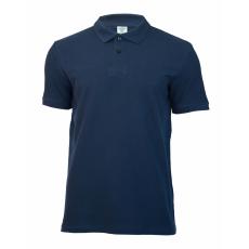 KEYA galléros piké póló, mélykék (Keya férfi galléros piké póló, 100% pamut piké anyag, 180g/m2.)