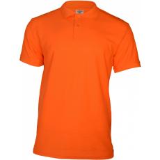 KEYA galléros piké póló, narancs (Keya férfi galléros piké póló, 100% pamut piké anyag, 180g/m2.)