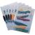 DURABLE Klipmappa -2260/01- A4 1-30lap FEKETE DURABLE Swingclip 25db/dob