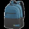 American Tourister Laptbackp kék - fekete 13,3-14,1 notebook hátizsák