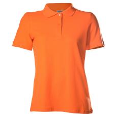 KEYA galléros Női piké póló, narancs (Keya galléros Női piké póló, 100% pamut piké anyag, 180g/m2.)