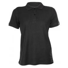 KEYA galléros Női piké póló, fekete (Keya galléros Női piké póló, 100% pamut piké anyag, 180g/m2.)