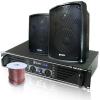 Skytec Gastronomie Set PA Boxen Verstärker Lautsprecher