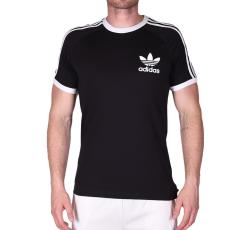 Adidas CLFN TEE, fekete férfi póló