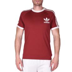 Adidas CLFN TEE, bordó férfi póló