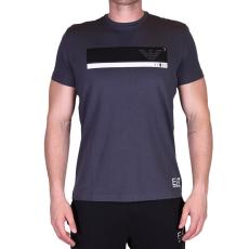 Emporio Armani T-SHIRT sötétszürke színû póló