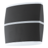 EGLO Kültéri fali lámpa LED-es 2X6W IP44 antracit - Perafita EGLO