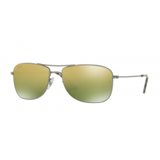 Ray-Ban RB3543 029/6O MATTE GUNMETAL GREEN MIRROR GOLD POLAR napszemüveg